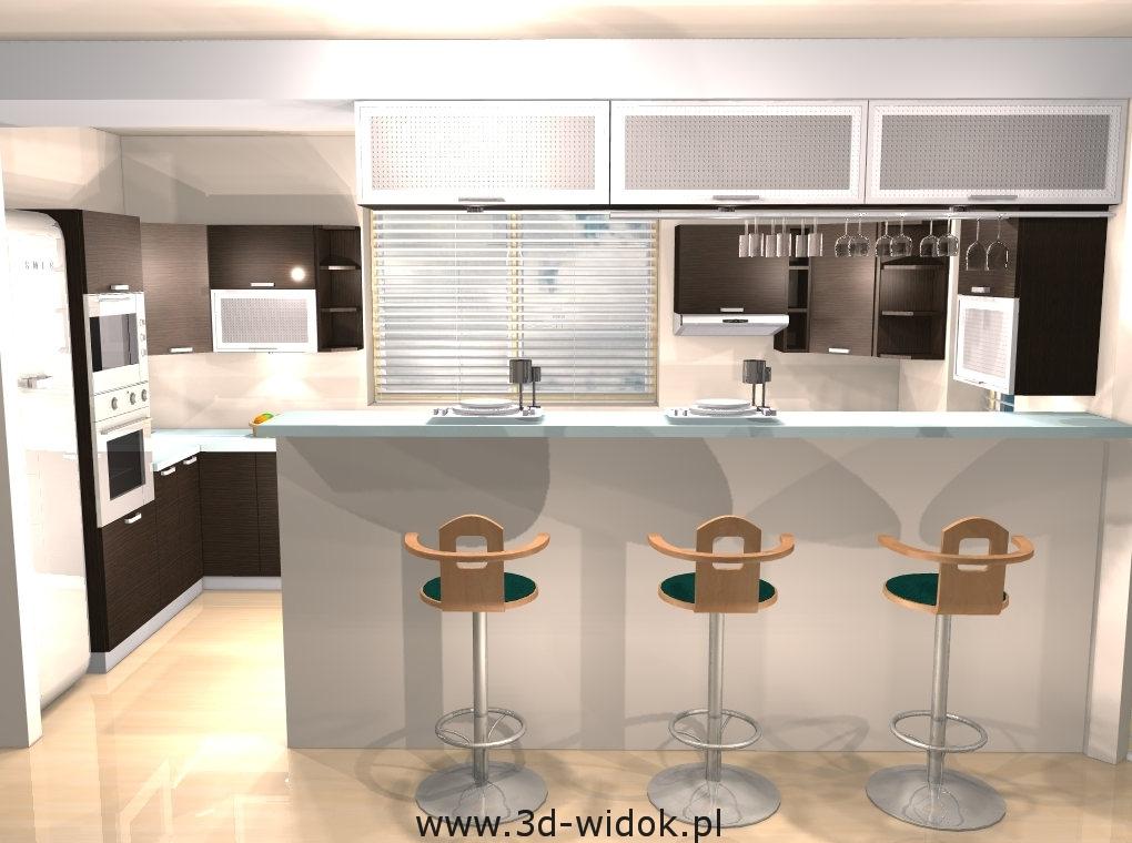 Wizualizacje kuchnie łódź  panorama 360  wizualizacje 3d   -> Kuchnie Marzen Lodz