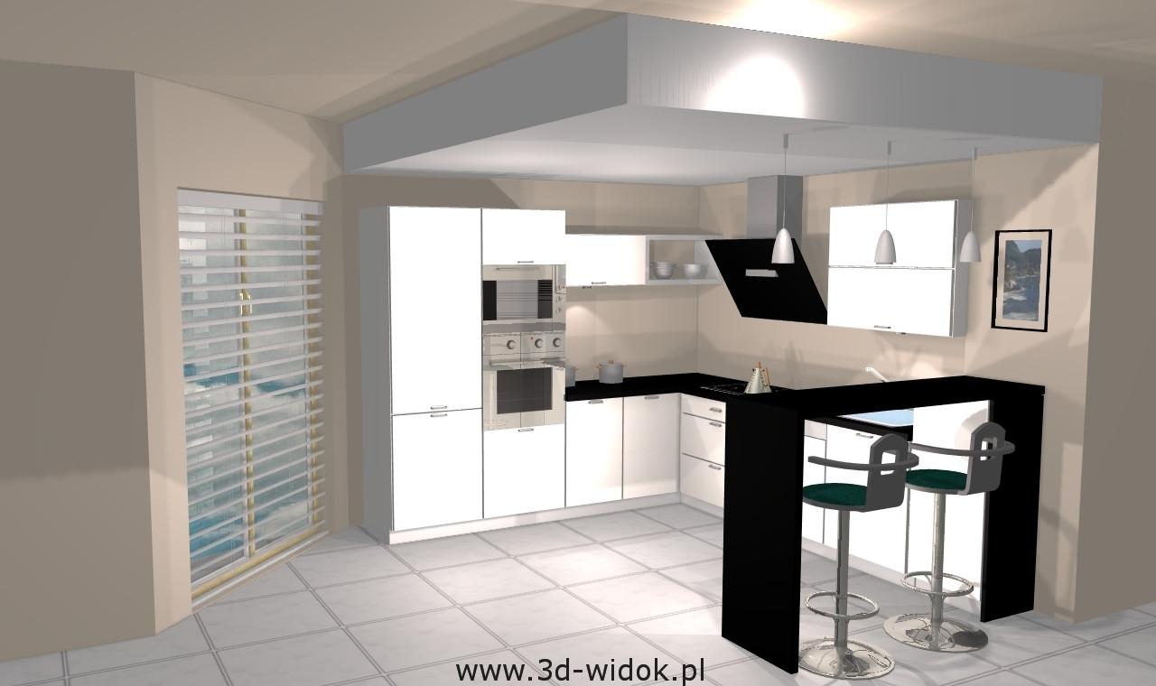 Kuchnie łódź  panorama 360  wizualizacje 3d  wycieczka   -> Kuchnie Marzen Lodz